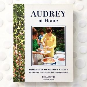 "BOOK, ""Audrey at Home"" by Luca Dotti, Audrey's son"
